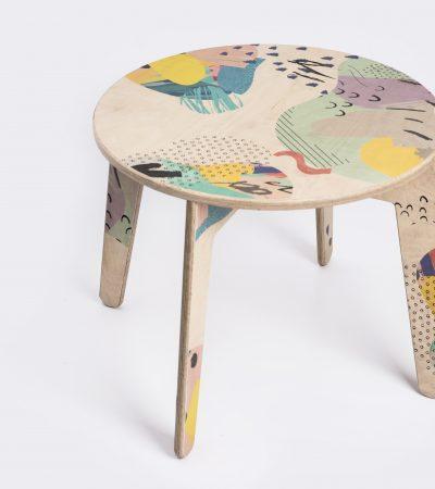 stół papuga